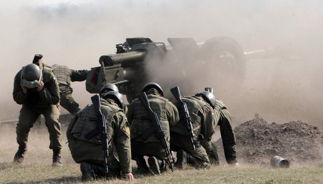 One Ukrainian soldier wounded in ATO zone in last day