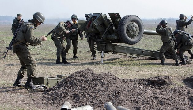 Five Ukrainian soldiers wounded in ATO in last day