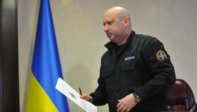 Турчинов протестував запуск ракет, не виходячи із власного кабінету