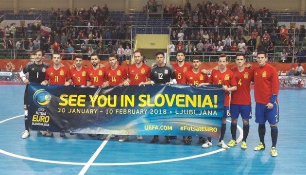 Уже відомі вісім команд-учасниць футзального Євро-2018