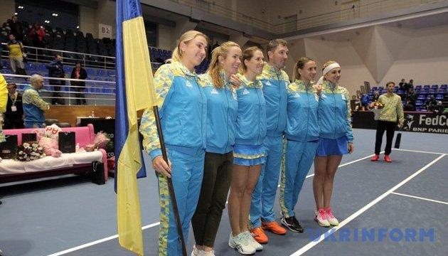 Кращі українські тенісистки представлятимуть країну у матчі Кубка Федерації
