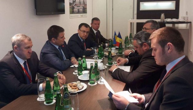 Клімкін і Галбур обговорили демаркацію українсько-молдавського кордону
