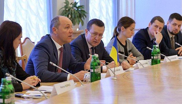 Звернення про загрозу від РФ відкрите для всіх парламентів - Парубій