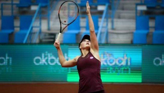 Катерина Козлова не зіграє у півфіналі тенісного турніру у Стамбулі