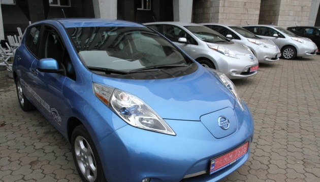 Number of electric cars in Ukraine growing – Ecology Ministry