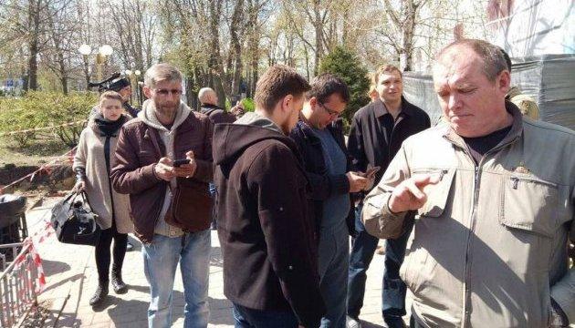 У Полтаві активісти перешкоджають ще одній сумнівній забудові в історичному центрі