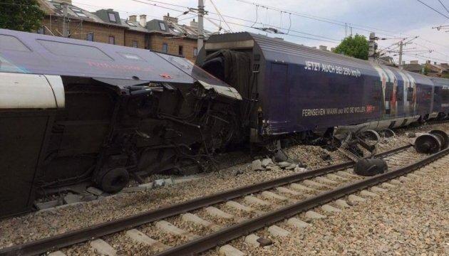 У Відні зіштовхнулися потяги, семеро постраждалих