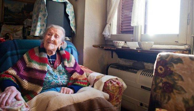 В Італії на 118 році померла найстаріша людина у світі