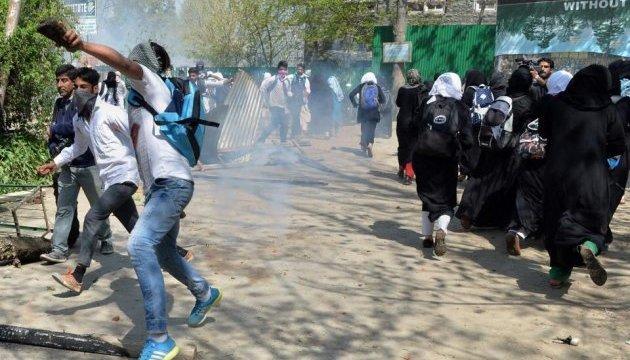 Протести в Кашмірі: поранено 100 студентів