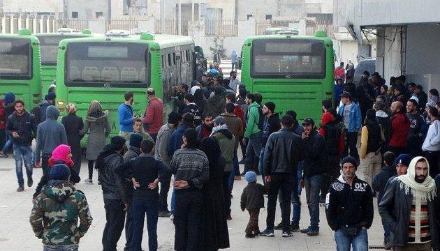 Триває евакуація мирних жителів із Хомса