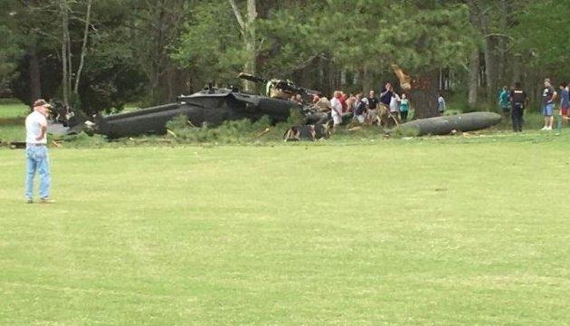 В США разбился медицинский вертолет, трое погибших