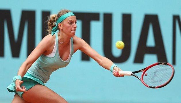 Чешка Квітова зіграє на першому тенісному турнірі після поранення