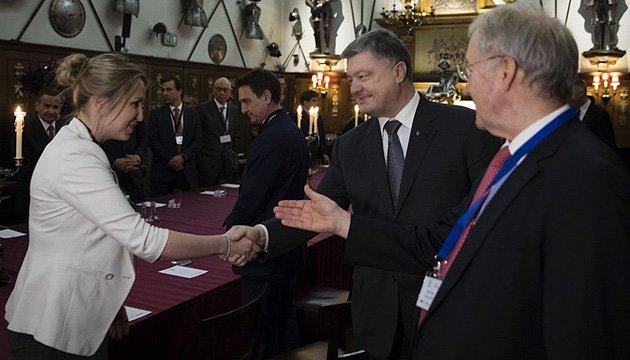 President Poroshenko invites British business to invest in Ukraine
