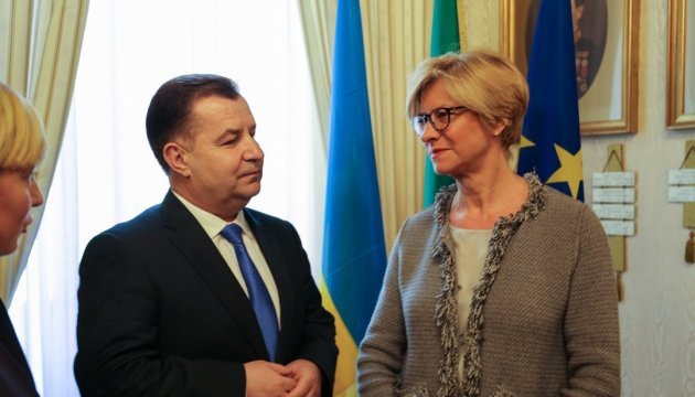 Ukraine, Italy interested in sharing hybrid warfare experience