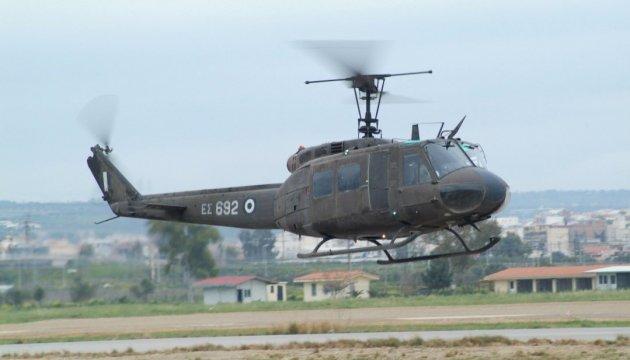 У Греції розбився військовий вертоліт: четверо загиблих