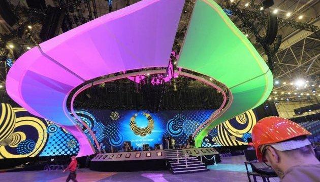 La scène de l'Eurovision est prête à 95%