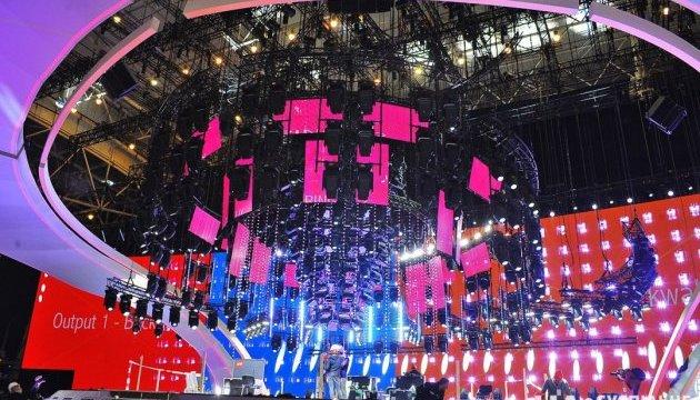 Сцена Євробачення-2017 вже повністю готова