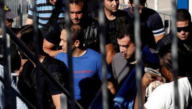 Греція продовжить судити турецьких військових, які втекли після путчу