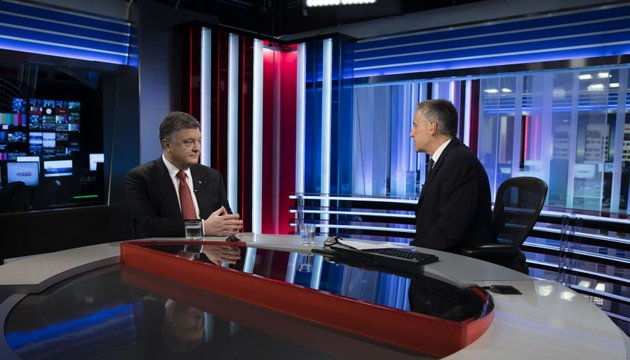 President Poroshenko believes US will never recognize annexation of Crimea