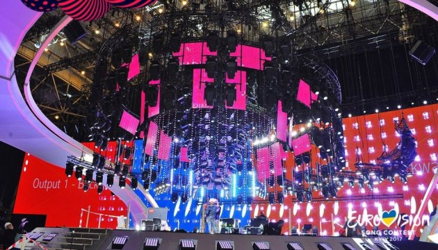 How main stage of Eurovision Song Contest 2017 looks now. Photos