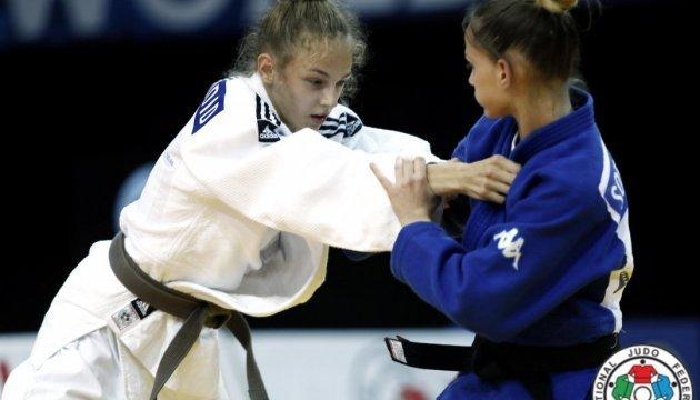 Daria Bilodid a remporté une médaille d'or au Championnat d'Europe de judo