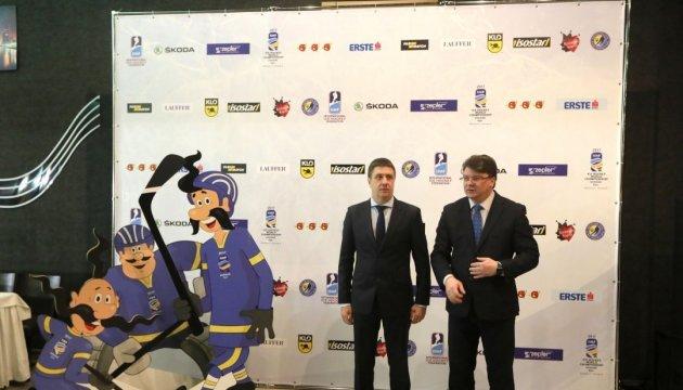 Le Championnat du monde de hockey commence en Ukraine