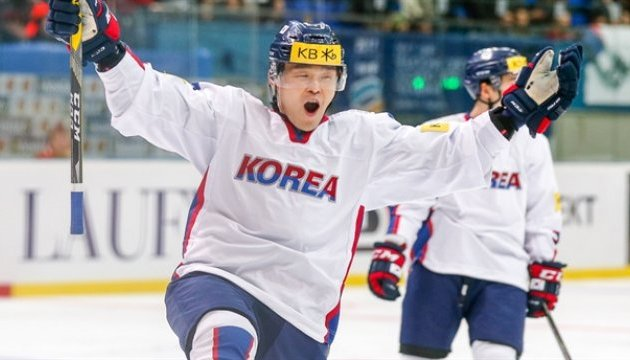 Корейці здобули вольову перемогу над хокеїстами Казахстану на ЧС у Києві