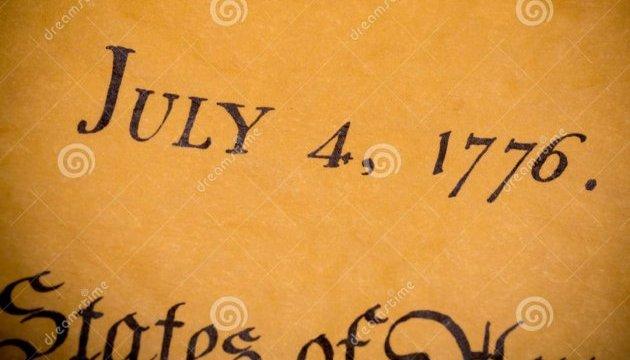 В Англії виявили пергаментний текст Декларації незалежності США