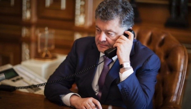 Poroshenko offers May assistance in investigating chemical attack in Salisbury