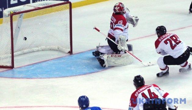 Збірна Казахстану обіграла австрійців на ЧС з хокею у Києві