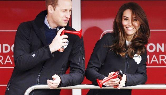 Кейт Міддлтон і принц Вільям дали старт лондонському марафону