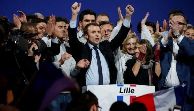 Макрон переміг у першому турі президентських виборів у Франції