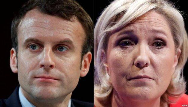 Макрон vs Ле Пен: кандидати зійдуться на теледебатах 3 травня
