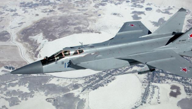 У Росії впав винищувач МіГ-31