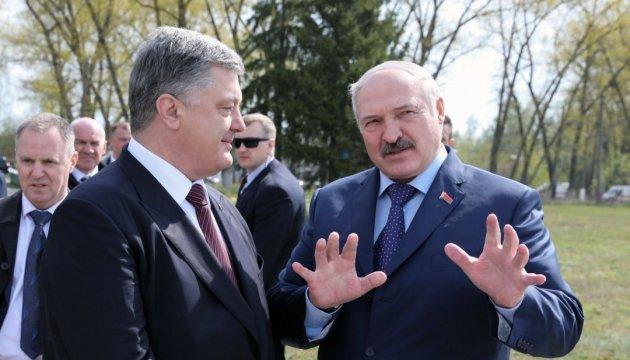 No one will ever embroil Belarus in war against Ukraine, Lukashenko says to Poroshenko