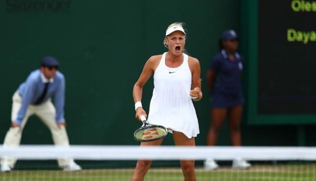Президент поздравил Ястремскую с победой на турнире WTA