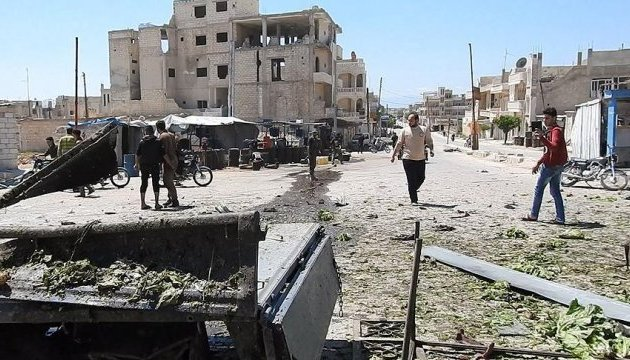 Евакуйованих з Дамаска доставили на північ Сирії