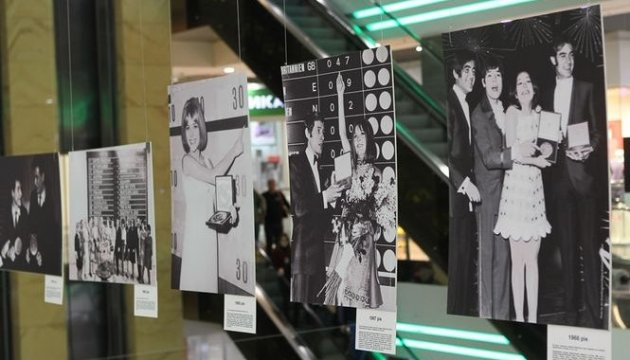 History of Eurovision photo exhibition opens in Kyiv