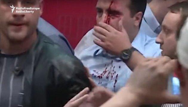 МВД Македонии насчитало 25 задержанных во время протестов