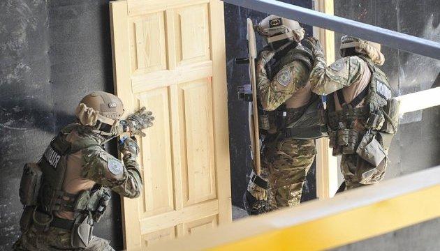 Под Киевом открыли шут-хауз для тренировок КОРДа