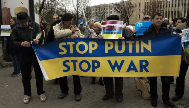 Stop Putin's War in Ukraine 4.0 rally held in Riga. Photos, video