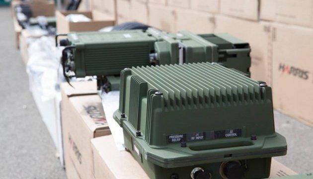 США передали українським прикордонникам мобільний центр радіозв'язку