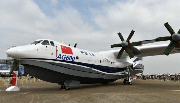 Крупнейший в мире самолет-амфибия прошел наземное испытание