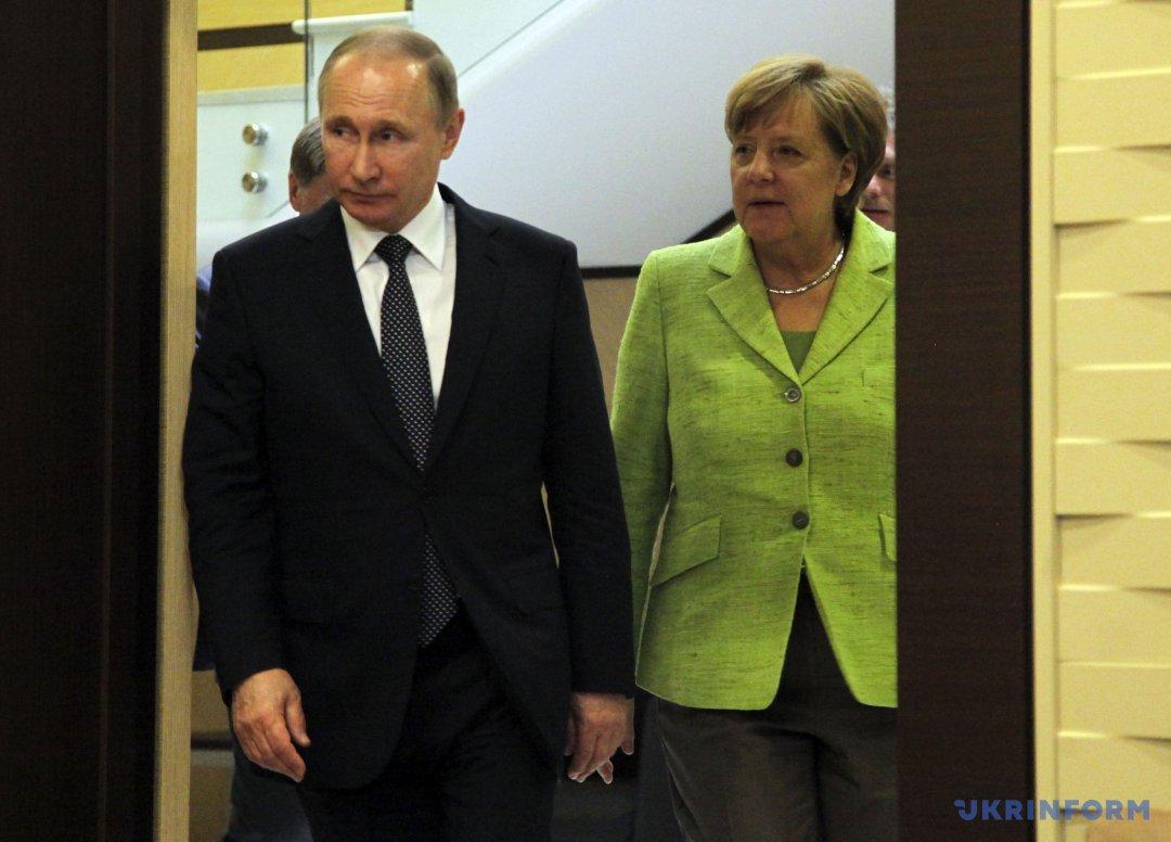 Путін, Меркель