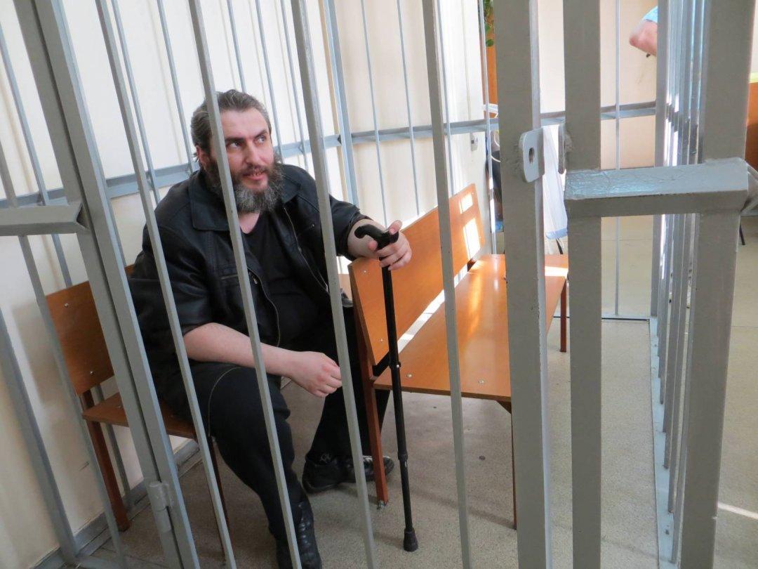 Борис Стомахін - російський політв'язень, який немає шансів вийти на волю