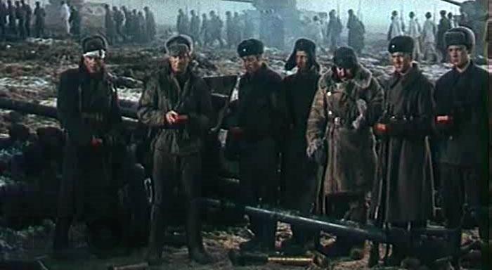 Солдати з радянського фільму
