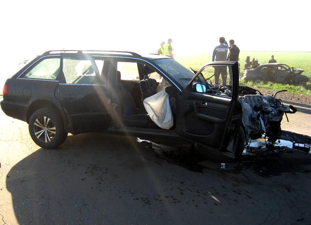 НаОдесчине вДТП погибли 5 человек