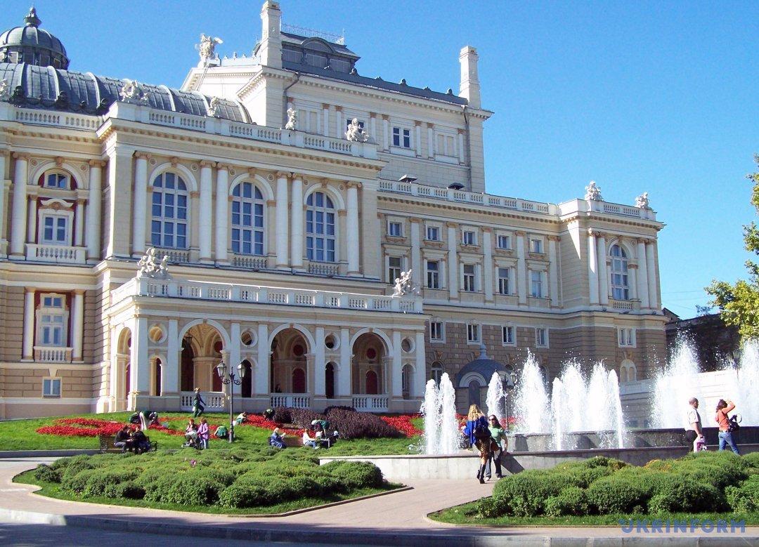 Одеський національний академічний театр опери і балету.  Фото: Андрій Новак