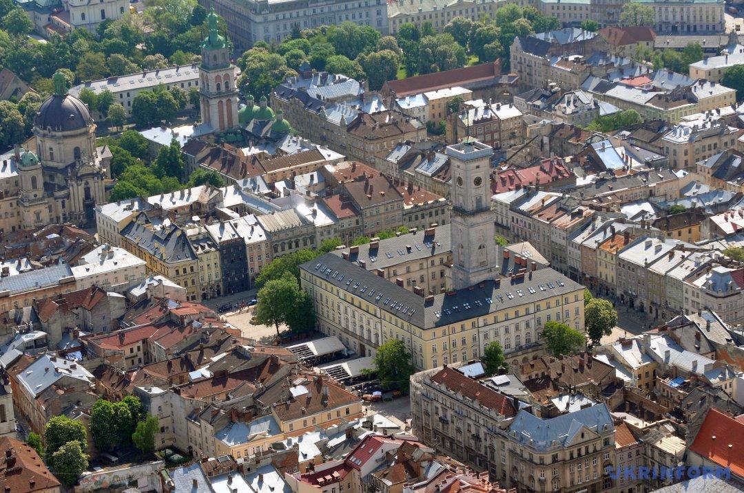 Панорама Львова. Фото: Маркіян Лисейко