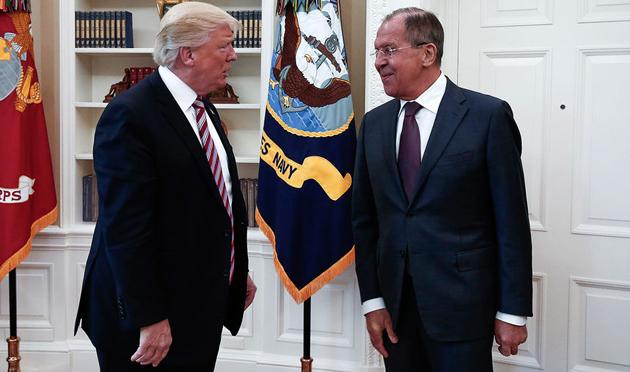 Дональд Трамп, Сергій Лавров / Фото: ТАСС